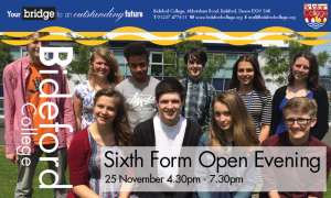 Sixth Form Open Evening A5